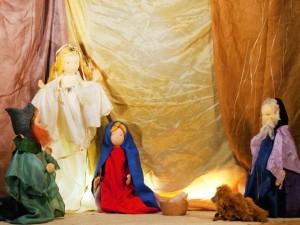 Marionettentheater-Weihnachtsgeschichte nach Selma Lagerlöf: Krippe und Engel