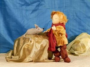 Der Goldene Apfel - Jan und die Maus im Marionettentheater im Schloss