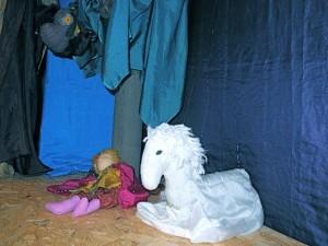 Marionettentheater - Das treue Pferd spricht mit den Eulen