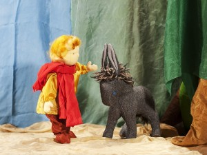 Der Esel ist Mabik ein treuer Begleiter