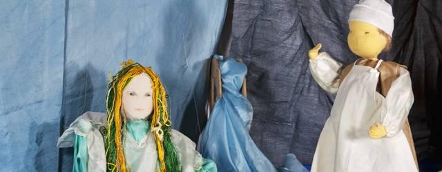 Marionettentheater im Schloss Kirchberg - Die Nixe im Teich, Detail